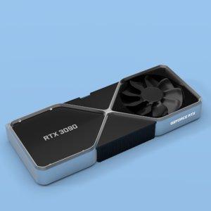 graphics card nvidia geforce 3D model