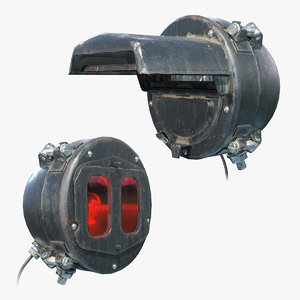 ready headlight tank fg-127 3D model