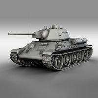 T-34-76 - Model 1943 - Factory 112 - Soviet Medium Tank