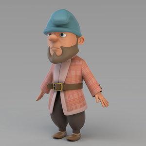 gnome 02 3D model