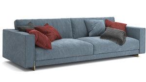 3D sofa hector model