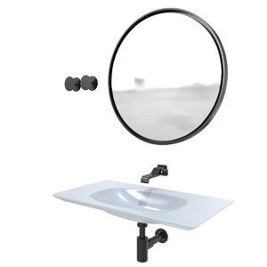3D model washbasin nudaflat 90 ceramica