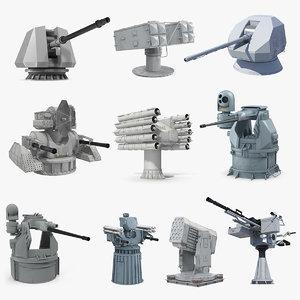 3D deck guns 4