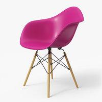 Modern Armchair Eames Purple