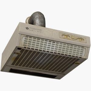 old cooker hood 3D model