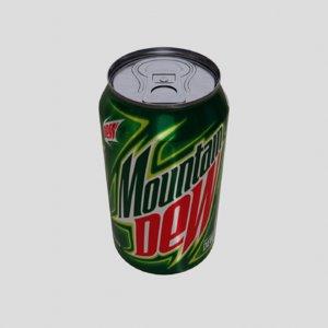 3D drinks mountain dew model