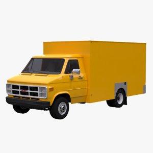 vandura box 3D model