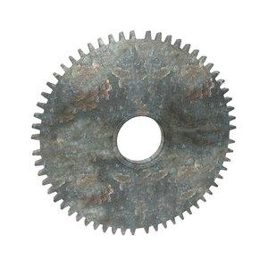 industrial cogs gears 3D