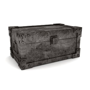 3D storage trunk model