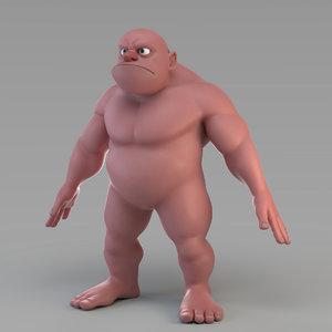 male giant model