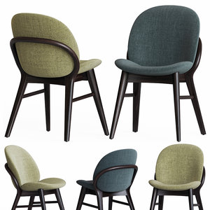 lip dining chair porada 3D model