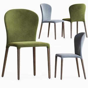 astrid dining chair porada 3D
