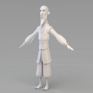 old wizard model