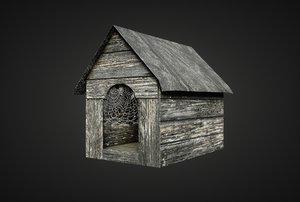 3D dog house games