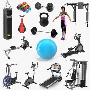 gym 5 3D model