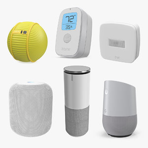 3D home assistants 2 model