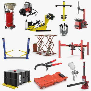3D garage equipment 7
