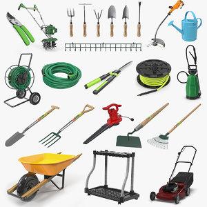 3D garden tools 8