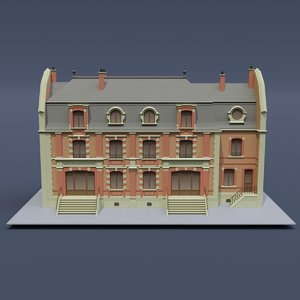3D victorian house 02