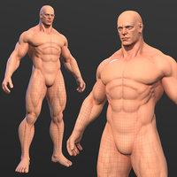 Character - Super Hero Male Body Base