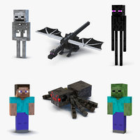 Minecraft Characters Collection 3