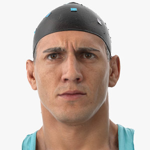 3D mike human head brow model