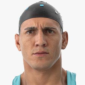 3D mike human head brow model