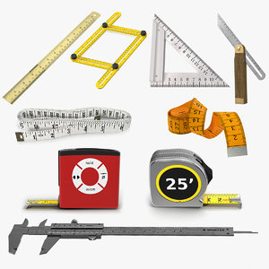 measure tools 7 t 3D model