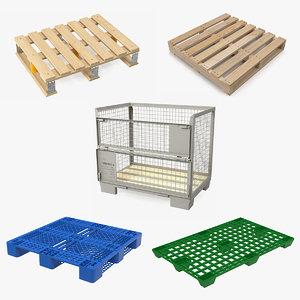 pallets 2 3D model