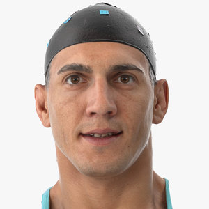 mike human head lip 3D model