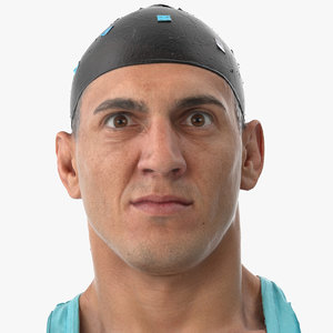 mike human head nose 3D model
