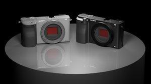 3D sony a6000 camera