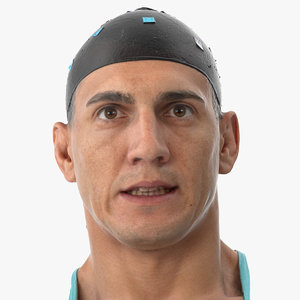 mike human head pose 3D model