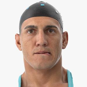 3D mike human head pose model