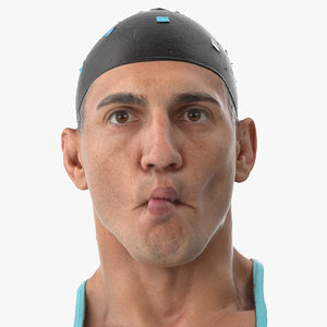 3D mike human head pose model