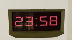 clock radio 3D