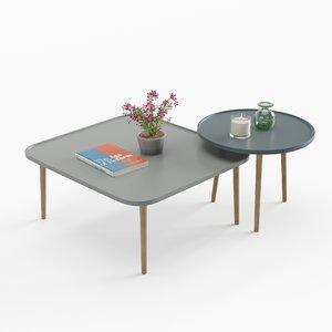 3D model breda table