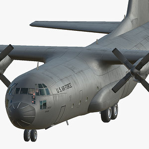 c130 3D model