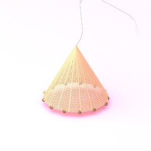 3D fishing net