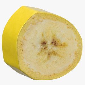 banana ring piece 3D