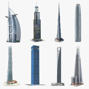skyscrapers 6 model