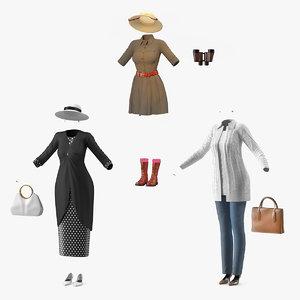 3D woman costumes women