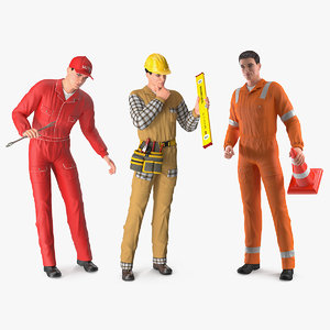 3D workers works