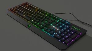 razer keyboard 3D model