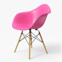 Modern Armchair Eames Violet