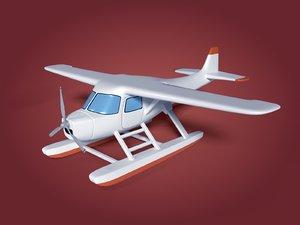 sea plane 3D model