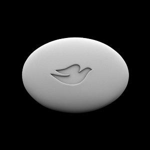 3D dove shop model