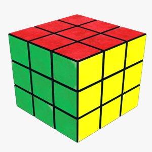 rubik s cube 3D