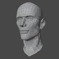 Male Head Base V1