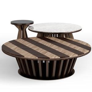 3D v-ray table